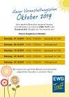 EWG Veranstaltungsplan Herderstrae Oktober 2019